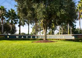 homes in water edge florida